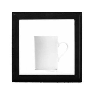 Weiß auf Weiß - Schatten von Weiß Kleine Quadratische Schatulle