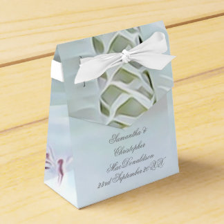 Weiß geschnürte Kleiderromantische Hochzeit Geschenkschachtel