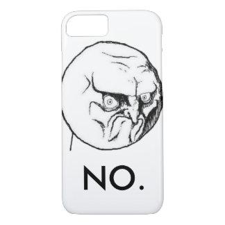 "Weiß ""NEIN"" meme lustig iPhone 8/7 Hülle"