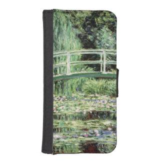 Weiß-Wasserlilien Claudes Monet  , 1899 iPhone SE/5/5s Geldbeutel
