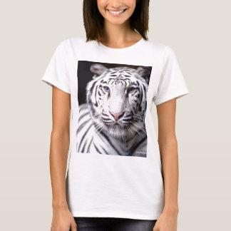 Weiße bengalische Tiger-Fotografie T-Shirt