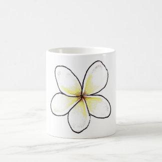 Weiße Blume Tasse