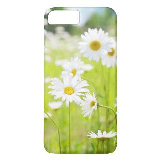 weiße Blumen iPhone 7 Plus Hülle
