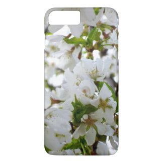 Weiße Blüte iPhone 8 Plus/7 Plus Hülle