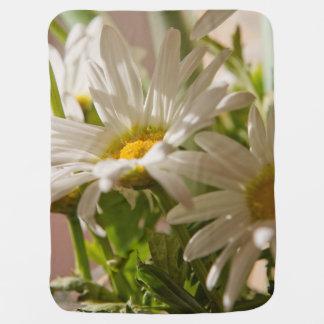 Weiße Gänseblümchen Puckdecke