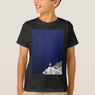 Weiße Kirche T-Shirt