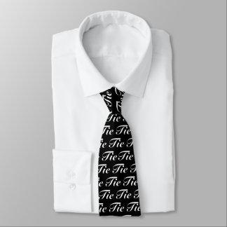 Weiße Krawatten-Krawatte Bedruckte Krawatte