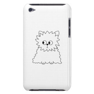Weiße persische Katze Barely There iPod Case
