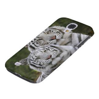 Weiße Phase, bengalischer Tiger, der Tigris Galaxy S4 Hülle