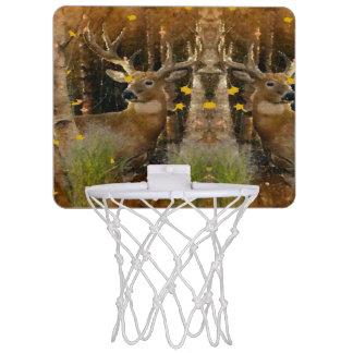 Weiße Schwanz-Dollar-Jäger-Element-Ausgabe Mini Basketball Netz