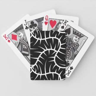 Weiße Spitzen Bicycle Spielkarten