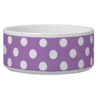 Weiße Tupfen auf Distel PurpleWhite Tupfen Wassernäpfe Für Hunde