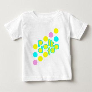Weißer Baby-Jersey-T - Shirt mit niedlichem
