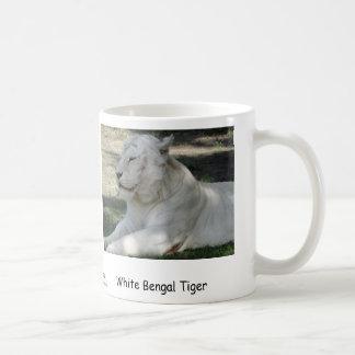 Weißer bengalischer Tiger Tasse