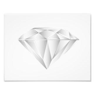 Weißer Diamant für meinen Schatz Fotodrucke