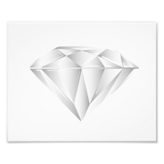 Weißer Diamant für meinen Schatz Kunstphotos