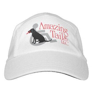 Weißer fantastischer Schwanz-Hut Headsweats Kappe