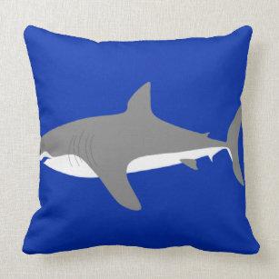 Weißer Hai Kissen