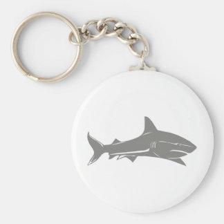 Weißer Hai Schlüsselanhänger