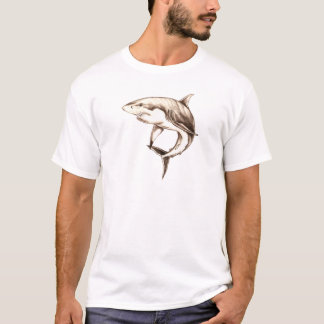 Weißer Hai T-Shirt