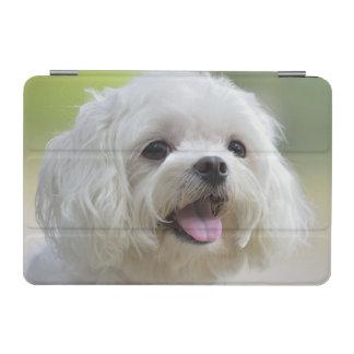 Weißer maltesischer Hund iPad Mini Cover