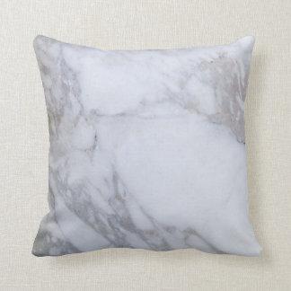 Weißer Marmor Kissen