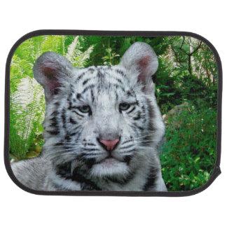 Weißer Tiger Autofußmatte