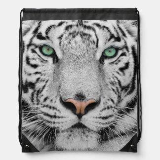 Weißer Tiger Sportbeutel