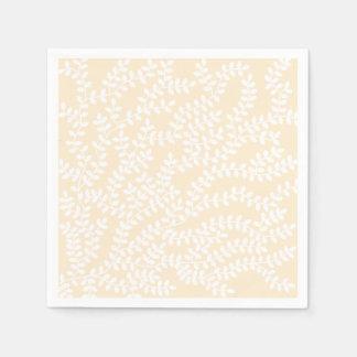 Weißer Wald Papierserviette