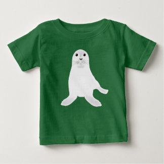 Weißes Siegel-T-Shirt Baby T-shirt