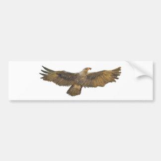 Weißkopfseeadler Eagles goldenes Eagle Autoaufkleber