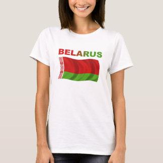 Weißrussland-Flagge (gewellt) T-Shirt