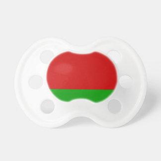 Weißrussland-Flagge Schnuller
