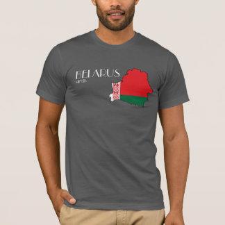 Weißrussland-Flaggen-Karten-Shirt T-Shirt