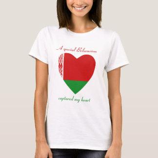 Weißrussland-Flaggen-Schatz-T - Shirt