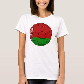 Weißrussland-Fußball-Damen-Spaghetti-Spitze T-Shirt