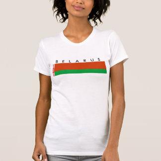 Weißrussland-Landesflaggenationssymbol T-Shirt