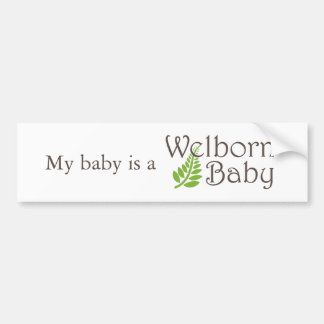 Welborn Baby-Autoaufkleber Autoaufkleber