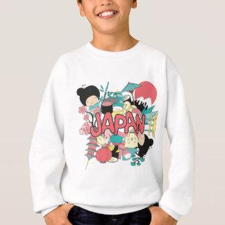 Wellcoda Japan Cartoon-Kulturanime-Leben Sweatshirt