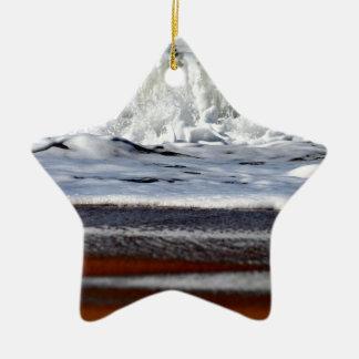 WELLEN QUEENSLAND AUSTRALIEN KERAMIK Stern-Ornament