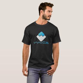 Wellen-Schlüsselmünzen-T - Shirt