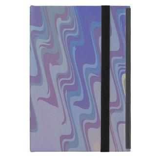 Wellen von Grünem und von Lila Hülle Fürs iPad Mini