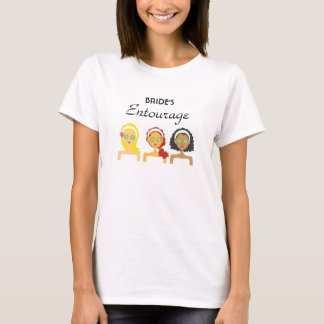 Wellness-Center-Brautentourage-T - Shirt