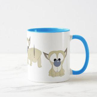 Welpen-Überraschung Tasse