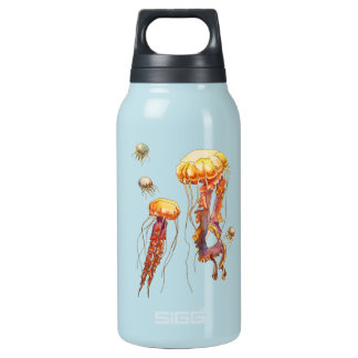Welt der Quallen Isolierte Flasche