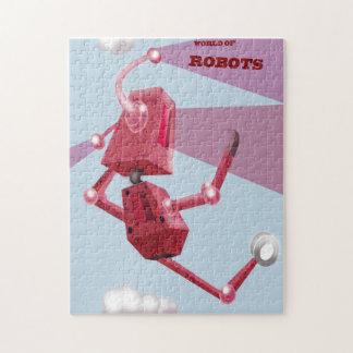 Welt der Roboter Puzzle