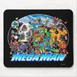 Welt des Mega- Mannes Mauspad