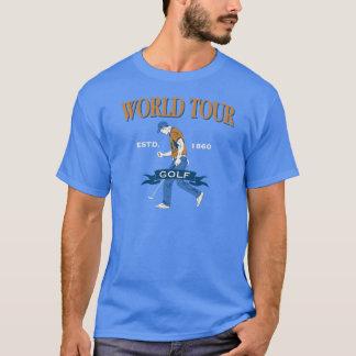 Weltausflug-Golf T-Shirt