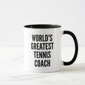 Weltbester Tennis-Trainer Tasse