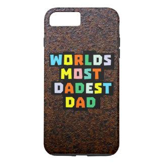 Welten der meiste Dadest Vati iPhone 8 Plus/7 Plus Hülle